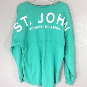Spirit Jersey St. John Virgin Islands Preppy M